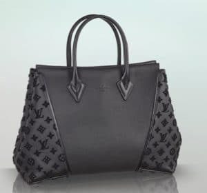 Louis Vuitton Black W PM Tote Bag
