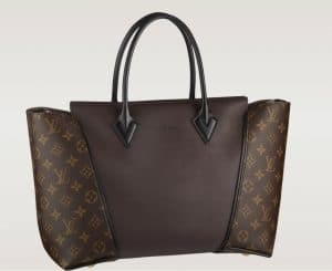 Louis Vuitton Chocolate Monogram W Bag