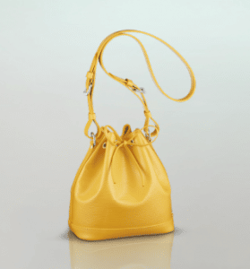Louis Vuitton Citron Epi Noé BB Bag