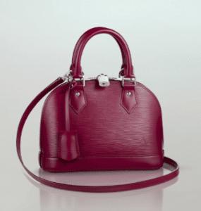 Louis Vuitton Fuchsia Epi Alma BB Bag