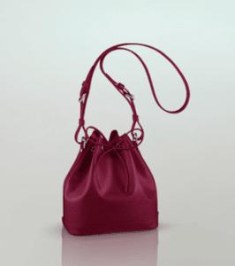 Louis Vuitton Fuchsia Epi Noé BB Bag