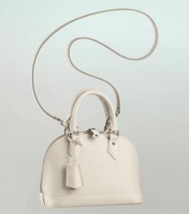 Louis Vuitton Ivory Epi Alma BB Bag
