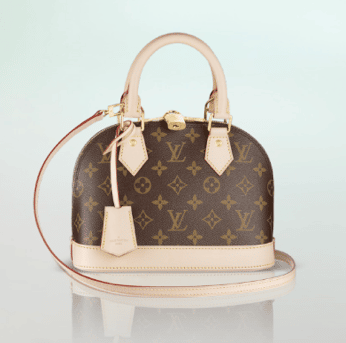 Louis Vuitton Monogram Canvas Alma Bb Bag
