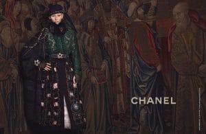 Tilda Swinton the face of Chanel Paris Edinburgh Collection
