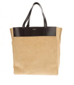 Saint Laurent Beige Classic North-South Shopping Bag