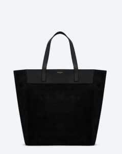 Saint Laurent Black Classic North-South Shopping Bag
