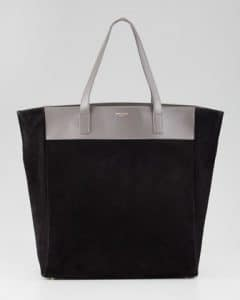 Saint Laurent Black/Grey Classic North-South Shopping Bag