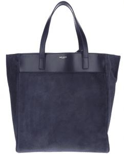Saint Laurent Blue Classic North-South Shopping Bag