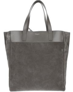 Saint Laurent Grey Classic North-South Shopping Bag