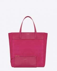 Saint Laurent Pink Classic North-South Shopping Bag 2