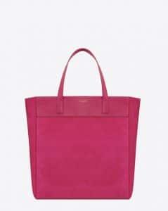 Saint Laurent Pink Classic North-South Shopping Bag