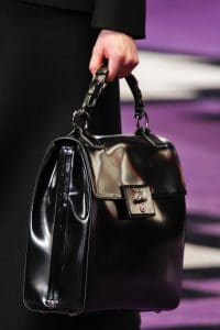 Prada Black Flap Bag - Fall 2012