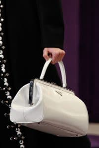 Prada White Doctor Bag - Fall 2012