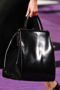 Prada Black Tote Bag - Fall 2012