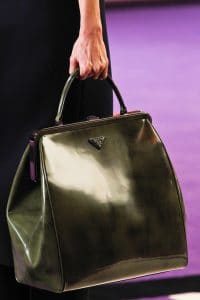 Prada Silver Tote Bag - Fall 2012