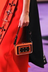 Prada Orange Embellished Mini Bag - Fall 2012