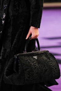 Prada Black Fur Doctor Bag - Fall 2012