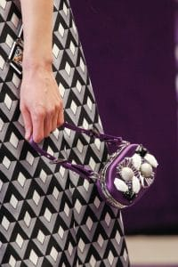 Prada Violet Embellished Mini Bag - Fall 2012