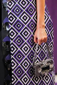 Prada Silver Embellished Mini Bag - Fall 2012