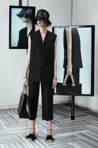 Balenciaga Black Large Tote Bag - Resort 2014