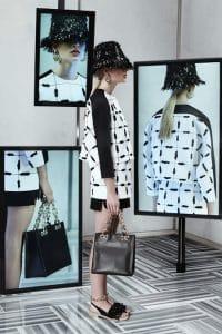 Balenciaga Black Small Tote Bag - Resort 2014