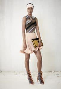Balenciaga Black/Gold Clutch Bag