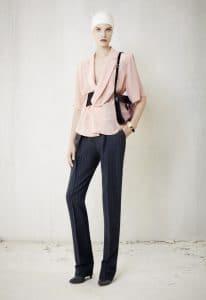 Balenciaga Black/Pink Flap Bag