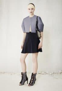 Balenciaga Black/Silver Flap Bag 2