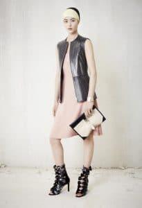 Balenciaga Black/White Clutch Bag