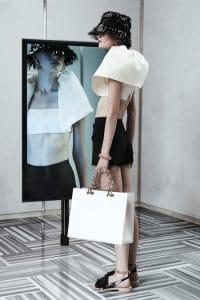 Balenciaga White Large Tote Bag - Resort 2014