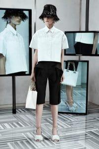Balenciaga White Small Tote Bag - Resort 2014