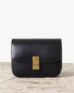 Celine Black Cassis Box Flap Bag - Winter 2013
