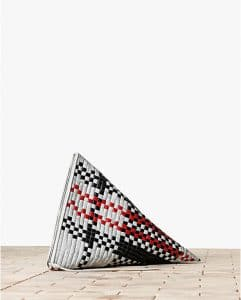 Celine Checkered Berlingot Twisted Clutch Bag - Winter 2013