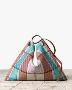 Celine Checkered Fortune Cookie Shoulder Bag - Winter 2013