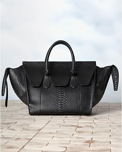 celine nano luggage tote replica - Celine Tie Tote Bag spotted in the latest Fall 2013 Campaign ...