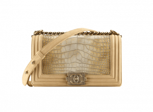 Chanel Alligator Boy Flap Bag