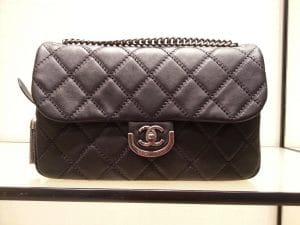 Chanel Black Coco Sporran Bag