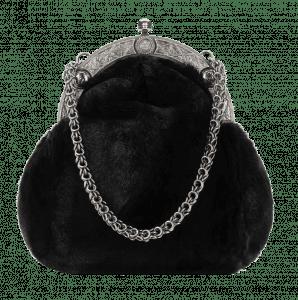 Chanel Black Orylag Clutch Bag