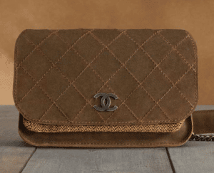 Chanel Brown Highlander Small Bag