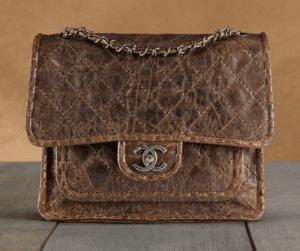 Chanel Brown Vintage Messenger Bag