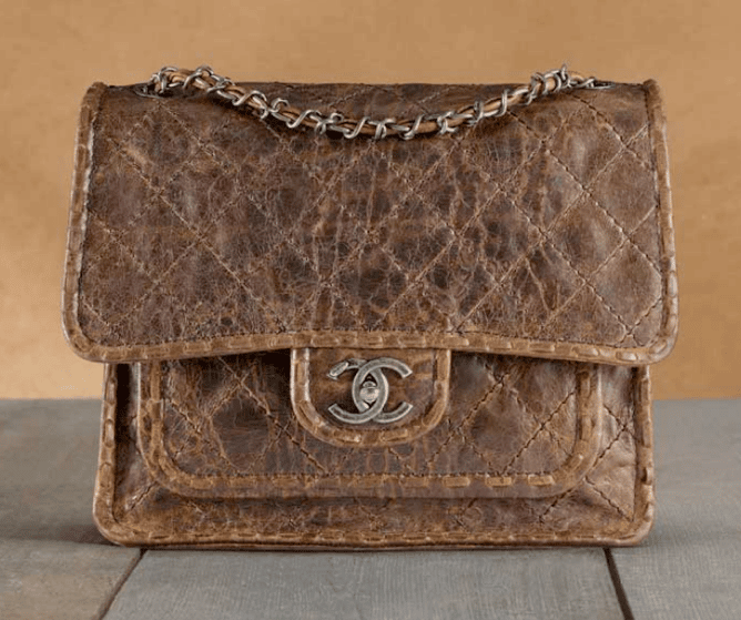 Chanel Messenger Handbag Chanel Brown Vintage Messenger