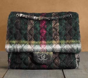 Chanel Multicolor Tartan Day Bag