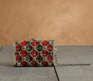 Chanel Tartan Minaudiere Bag