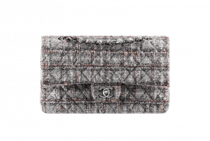 Chanel Tweed Classic Flap Medium Bag
