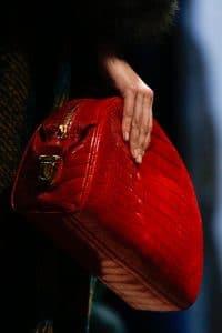 Prada Red Clutch Bag - Fall 2013