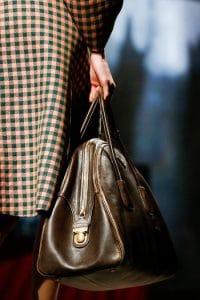 Prada Brown Bowler Bag - Fall 2013