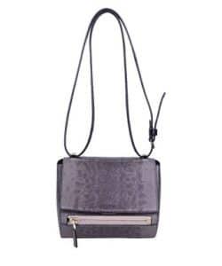 Givenchy Purple Lizard Pandora Box Mini Bag