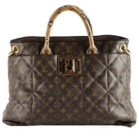 Louis Vuitton Beige Monogram Etoile Exotique Tote Bag