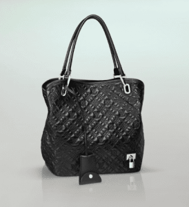 Louis Vuitton Black Monogram Antheia Lilia GM Bag