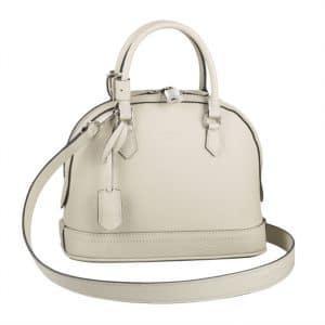 Louis Vuitton Blanc Casse Alma PPM Taurillon Bag